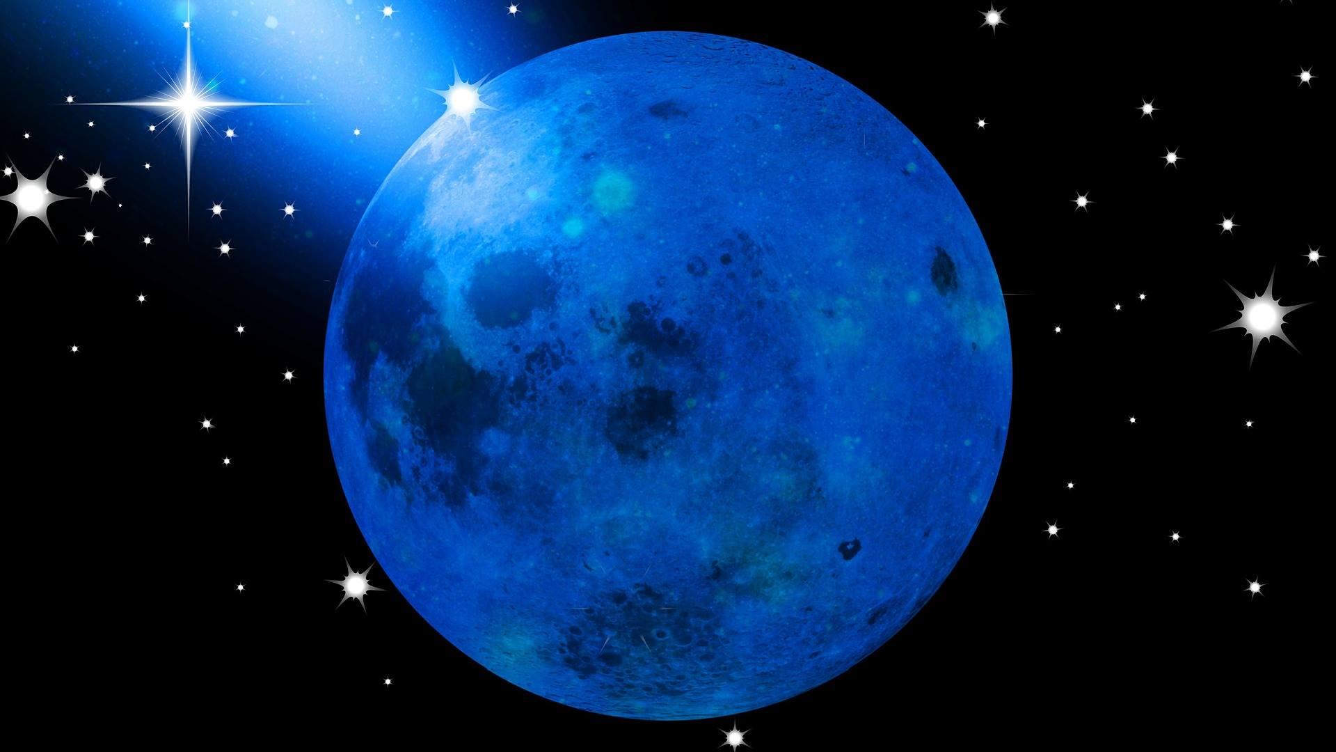 De Totale Blauwe Maansverduistering In Leeuw Van 31 Januari 2018