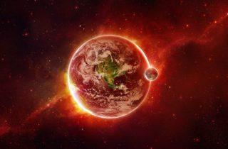 De Maansverduistering In Boogschutter Van 5 Juni 2020