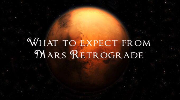 MARS RETROGRADE FOTO