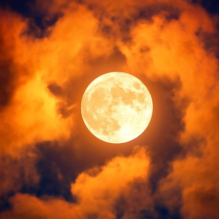 De Volle Maan In Ram Van 1 Oktober 2020
